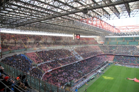 Milan, stadio